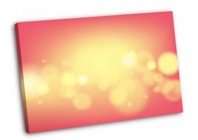 Золотое свечение на розовом
