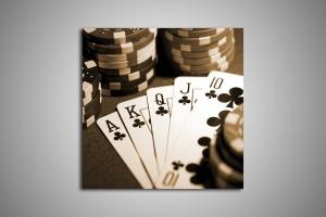 Карты, покерные фишки