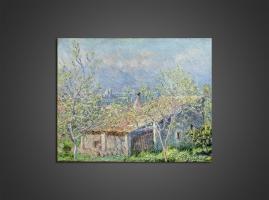 Клод Моне - Дом садовника в Антибе