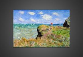 Клод Моне - Прогулка по утесу