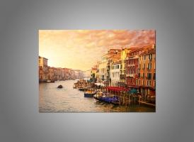 Красивый вид на канал Венеции