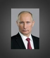 Портрет Путина В. В. для кабинета