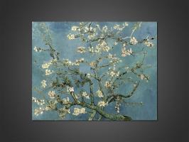 Ван Гог - Цветущий миндаль (Ветка миндаля в цвету)
