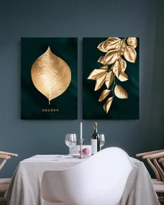 """Картина (диптих) """"Золотая ветвь"""""""