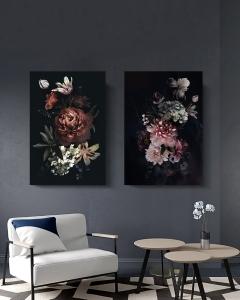 """Комплект картин """" Цветочный дуэт"""""""