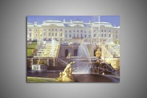 Петергоф большой дворец, парк и фонтаны