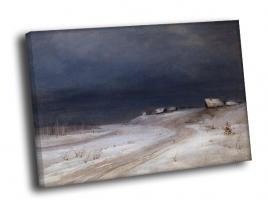 А. Саврасов - Зимний пейзаж 2