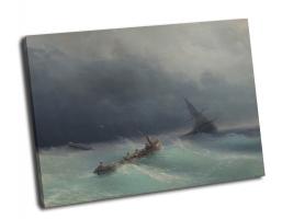 Айвазовский Иван - Буря на море
