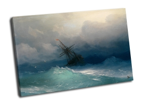 И. Айвазовский - Корабль среди бурного моря