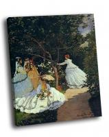 Клод Моне - «Женщины в саду»