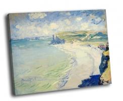 Клод Моне - «Пляж в Пурвиле», 1882