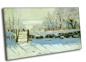 Клод Моне - «Сорока», 1868—1869