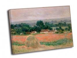 Клод Моне - Стог сена в Живерни (1886)