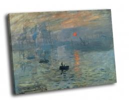 Клод Моне - «Впечатление. Восходящее солнце», 1872