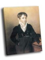 Орест Кипренский - Портрет мальчика 2