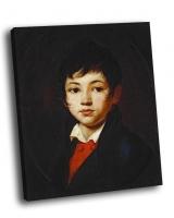 Орест Кипренский - Портрет мальчика