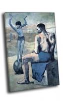 Пабло Пикассо - Девочка на шаре