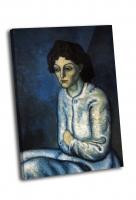 Пабло Пикассо - Женщина со скрещёнными руками