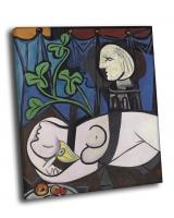 Пабло Пикассо - Обнажённая, зелёные листья и бюст, 1932