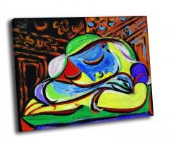 Пабло Пикассо - Спящая девушка