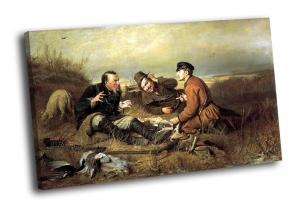 ПЕРОВ Василий - Охотники на привале