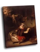 Рембрандт - Святое семейство