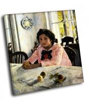 СЕРОВ Валентин - Девочка с персиками