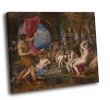 Тициан - Диана и Актеон