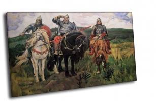 Три Богатыря купить - В. М. Васнецов (1898)