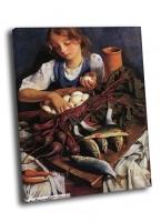 З.Е. Серебряковой - «На кухне. Портрет Кати»