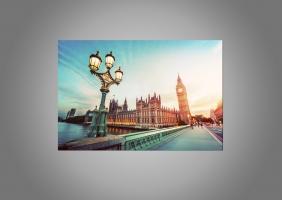 Светильник и Вестминстерский дворец, Лондон