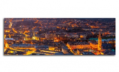 Вид на георгианского города Бат