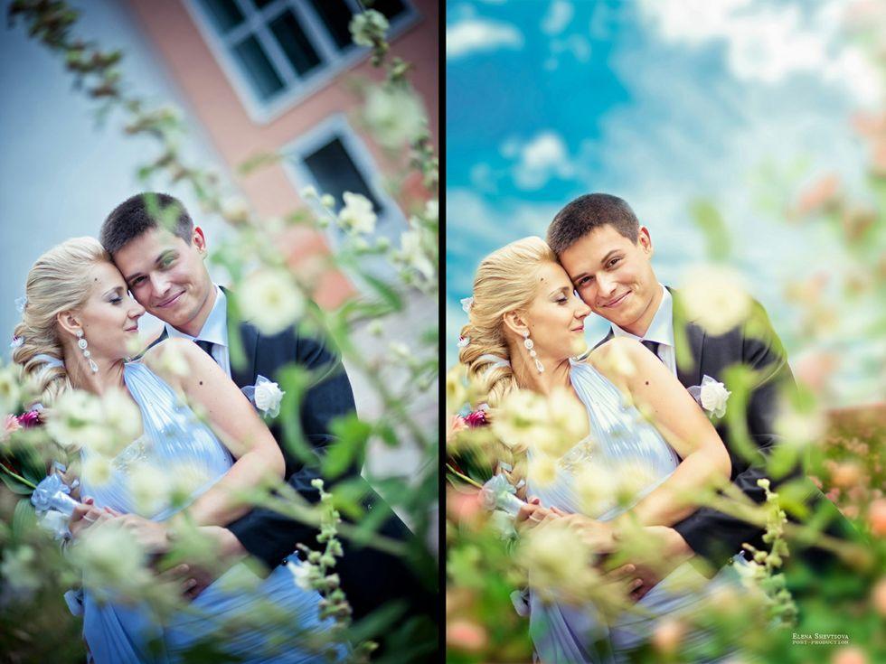 Как сделать два фото вместе
